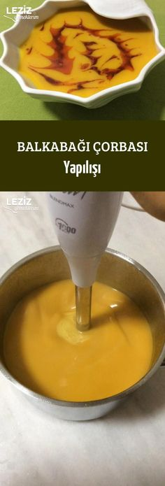 Pumpkin Soup Preparation – My Delicious Food Soup Recipes, Cooking Recipes, Healthy Recipes, Flourless Banana Pancakes, Healthy Peanut Butter, Nutella Recipes, Best Breakfast Recipes, Pumpkin Soup, Turkish Recipes