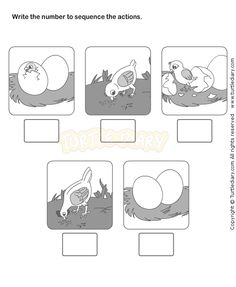 Picture Sequence Worksheet 14 - esl-efl Worksheets - kindergarten Worksheets