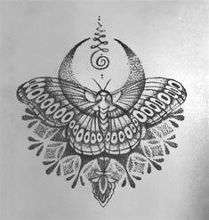 Tattoos on back Nape Tattoo, Tattoo Hals, Head Tattoos, Line Tattoos, Body Art Tattoos, Sleeve Tattoos, Tattoo Ink, Flower Tattoos, Butterfly Mandala Tattoo