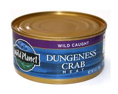 Dungeness Crab Meat #sustainable from Wild Planet (down at the foot of C Street in Eureka)