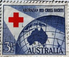 ~Aussie Red Cross Stamp