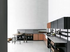 Patricia Urquiola's Salinas kitchen for Boffi