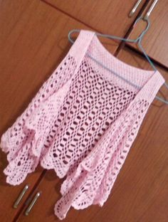 Diagrammed pink vest - I know this is a vest, but I'm thinking 'add sleeves'