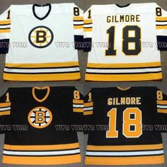 4805204bc 18 Happy Gilmore Hockey Jersey Boston 1996 Throwback Movie Ice Hockey  Jersey All Stitched Custom Any Name Any Numver Men Jersey .