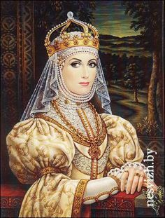 Barbara Radziwiłówna 2.wife of Sigismund II.August Jagiellon ...
