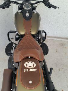Wide Style Tank Bib And Fender Bib For Softail Slim Leather Softail Slim Softail