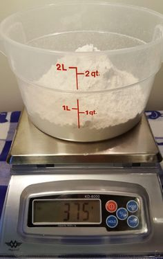 Weigh the Flour Image