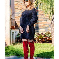 Meu look: Calça flare e camisa jeans Andrea Simonetti