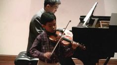 playing Bach Violin Concerto in A Minor, first movement (Allegro moderato). Performed in Mr. Flaniken's student recital—See more of young violinist #sonB_from_beandoctor