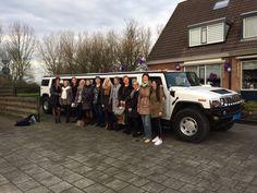 #Verjaardagsfeest #Sarah #Hummer #Limousine | Limousine huren Friesland