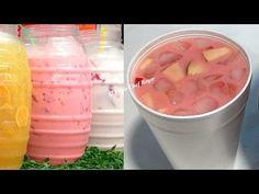 AGUA DE FRUTAS TIPO LA MICHOACANA PARA VENDER, Agua de frutas para negocio o consumo, Receta #426 - YouTube