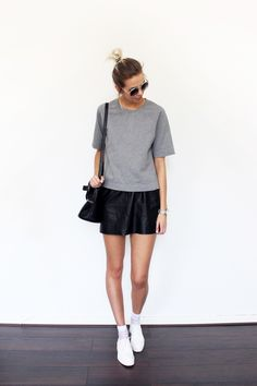 BLACK SKIRTS, WHITE SOCKS - Connected to Fashion | Creators of Desire - Fashion trends and style inspiration by leading fashion bloggers