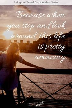 This list contains the best travel quotes to use as an inspirational captio Instagram Captions Travel, Instagram Captions For Friends, Travel Captions, Instagram Quotes, Instagram Travel, Unique Captions, Cool Captions, Ig Captions, Caption For Yourself