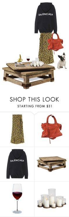 """""""Untitled #244"""" by fashiondisguise on Polyvore featuring interior, interiors, interior design, home, home decor, interior decorating, Balenciaga, Ralph Lauren, Artland and Jonathan Adler"""