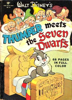 comic thumper meets seven dwarfs #comic #cover #art