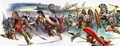 """""""The Battle of Marathon""""; La Pintura y la Guerra. Sursumkorda in memoriam"""