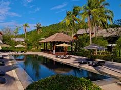 Twin Lotus - Koh Lanta 5 Star Hotels, Resort Spa, Outdoor Pool, Hotel Offers, Lotus, Twins, Mansions, House Styles, Beach