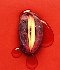 by Martin Vallin Photography Fruit Photography, Photography Logo Design, History Of Photography, Vaporwave, True Fruits, Feminist Art, Vogue Uk, Fruit Art, Tantra