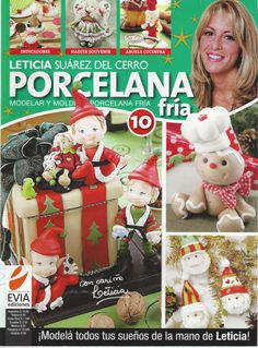 Cold Porcelain magazine 10 2011 by Leticia Suarez by AmGiftShoP, $12.99