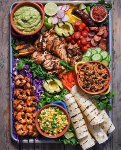 This Deconstructed Taco Platter recipe is featured in the Game Day Snacks feed along with many more. Charcuterie Recipes, Charcuterie And Cheese Board, Mexican Appetizers, Mexican Food Recipes, Party Food Platters, Snack Platter, Clean Eating, Healthy Eating, Good Food