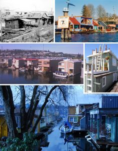 When I lived in Seattle I got to go to a party on my boss's house boat.  We sat on the deck watching the ducks paddle by!