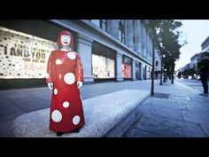 Louie Vuitton store display video. MUST SEE, LADIES!!! This is the making of the Louis Vuitton x Yayoi Kusama at Selfridges display. SO amazing.