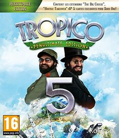 Tropico 5 Penultimate Edition, Kalypso Media Usa, Xbox One, 848466000642 Tropico 5, Wii, Videogames, The Fog Of War, Xbox 1, Challenges And Opportunities, New Video Games, Mad World, Xbox One Games