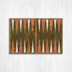 "Backgammon Wooden Board 15/"" Yenigun Turkish Board SeaShell Design Game Case"