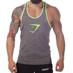 Men's Tank Tops, Casual vest Gym fitness Sport body gasp
