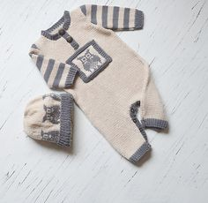 Ravelry: 'Lil Owl' Onesie and hat pattern by OGE Knitwear Designs