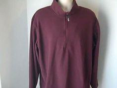 Guide Series Mens XLT Maroon Fleece Sweatshirt #GuideSeries #FleeceTops