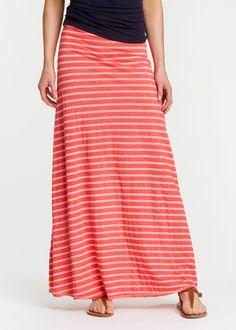 Toggery Essential Striped Maxi Skirt | www.rodales.com