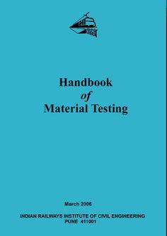 Download Handbook of Material Testing Book by Shiv Kumar Free [PDF] | Civil Engineering Blog