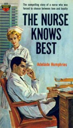 Monarch Books 76 The nurse knows best