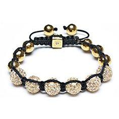 Bling Jewelry Disco Ball Bead Bracelet Shamballa Inspired Gold Faceted Beads 10-12mm  http://electmejewellery.com/jewelry/religious-jewelry/religious-bracelets/bling-jewelry-disco-ball-bead-bracelet-shamballa-inspired-gold-faceted-beads-1012mm-com/