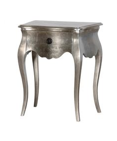 The Fleur bedside is a classic piece of furniture. This table features 1 drawer and has a beautiful silver leaf finish. Part of our Fleur french bedroom furniture range.
