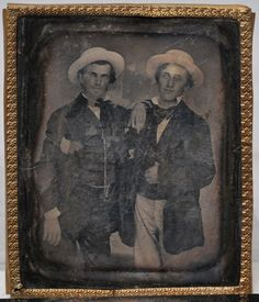 Unframed Daguerreotype of Two Brothers : Lot 179