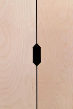 routed handles for our a new design studio cabinet