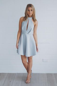 saba dress - pale blue | Esther clothing Australia and America USA, boutique online ladies fashion store, shop global womens wear worldwide, designer womenswear, prom dresses, skirts, jackets, leggings, tights, leather shoes, accessories, free shipping world wide. – Esther Boutique