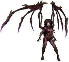 Kerrigan from Heroes of the Storm