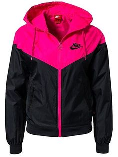 Nike Windrunner – Nike – Black/Pink – Jackets And Coats – Sports Fashion – Women… Nike Windrunner – Nike – Black/Pink – Jackets And Coats [. Nike Shoes Cheap, Nike Free Shoes, Nike Shoes Outlet, Running Shoes Nike, Cheap Nike, Nike Outfits, Cute Gym Outfits, Sport Outfits, Nike Windrunner