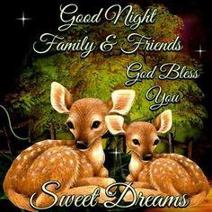 Good night family and friends. God bless you. Good Morning God Quotes, Good Night Love Quotes, Good Night Prayer, Good Night Blessings, Good Night Messages, Good Night Family, Good Night Friends, Good Night Wishes, Good Night Sweet Dreams
