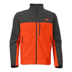 North Face Apex Bionic Mens C757-CTZ Orange Grey ClimateBlock Jacket Size 3XL
