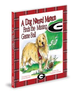 At The University of Georgia, the Game Ball is Missing! Can Munson, the golden retriever, save the day? Follow Munson as he searches the historic UGA campus meeting Hairy Dog, the cheerleaders, the Red Coat Band, and others along the way. $14.95