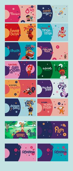 Minimini channel branding on Behance Ad Design, Layout Design, Branding Design, Logo Design, Channel Branding, Creative Advertising, Web Banner, Social Media Design, Motion Design