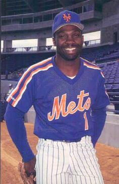MOOKIE WILSON OF 80-89 Mets Baseball, Baseball Star, Baseball Uniforms, Major League Baseball Teams, Mlb Teams, Baseball Players, Ny Mets, New York Mets, Mookie Wilson