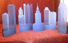 DIY create a city tablescapes set of five by hilemanhouse on Etsy