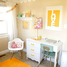once.daily.chic: Cute DIY Little Girls room!