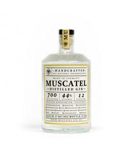 Muscatel destilled Gin