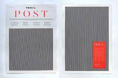 Editorial Design Inspiration: Pencil Post